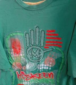Miskeen Originals 2XL Mens Green Shirt